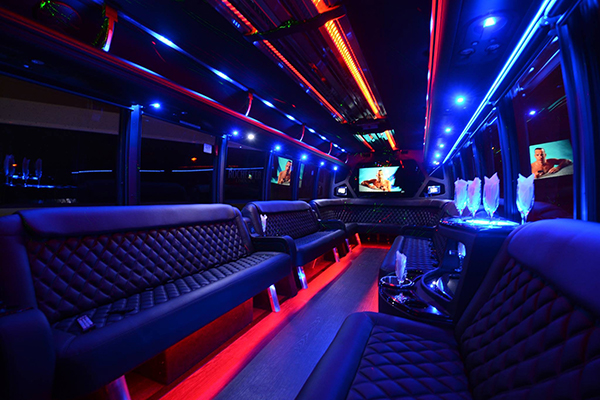 40 Person Party Bus Rental Los Angeles