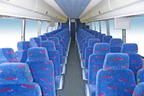 50 Person Charter Bus Rental Los Angeles