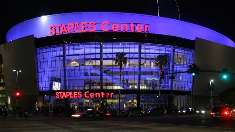 Party Bus Service Los Angeles Staples Center